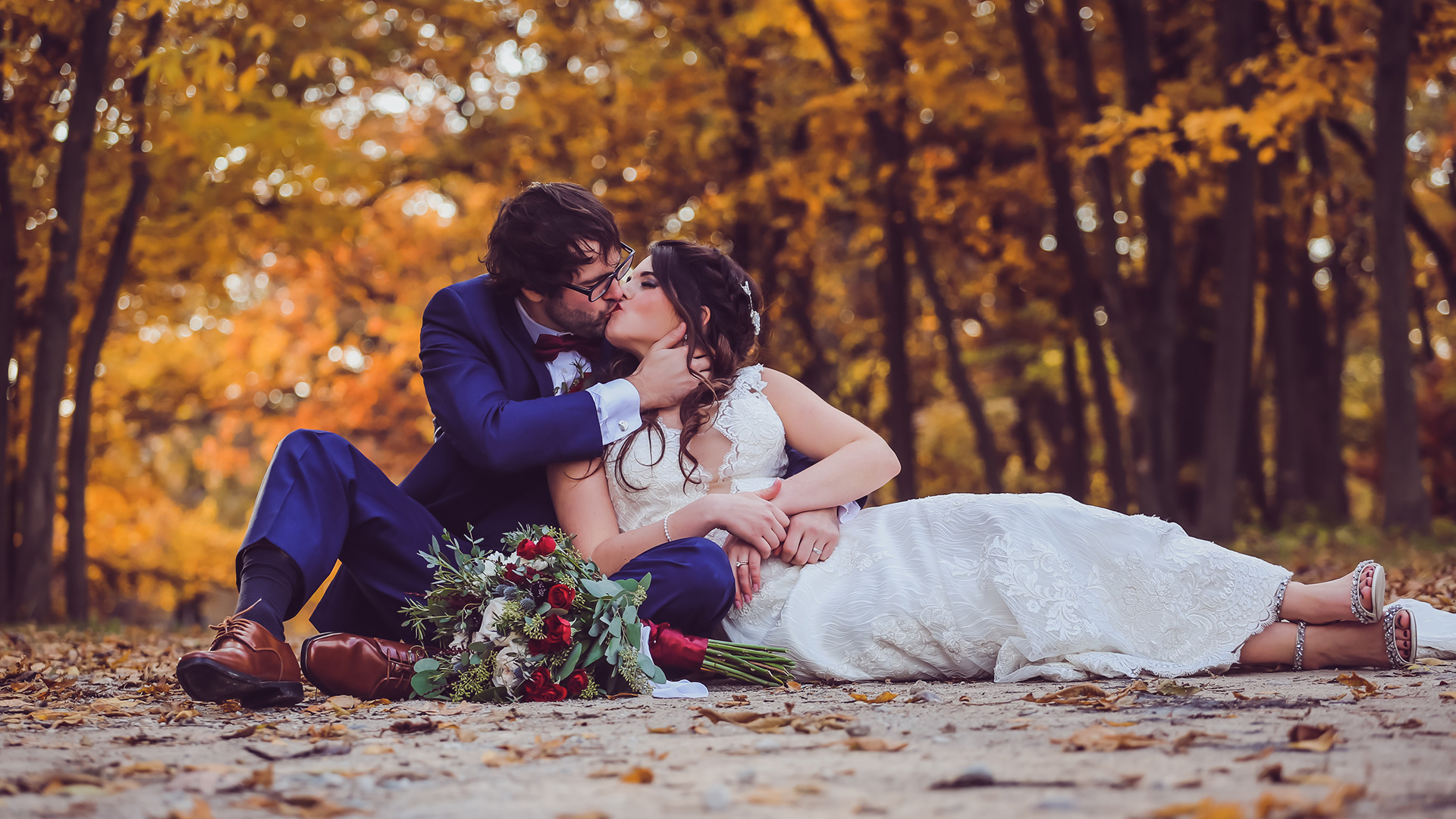 Fall Wedding in Des Moines Iowa